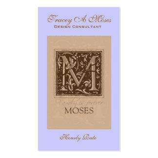avance, Tracey un Moses, consultor del diseño, Tarjetas De Visita