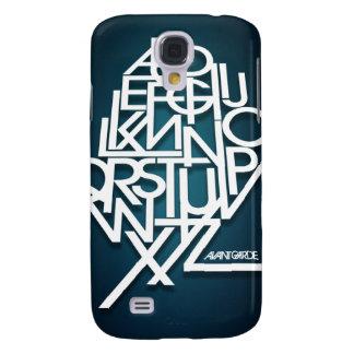 Avant Garde ABC's Samsung Galaxy S4 Cover