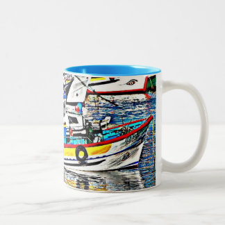 Avant Garde* Fishing Boat Mug