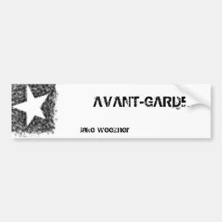 Avant-Garde Long Sticker
