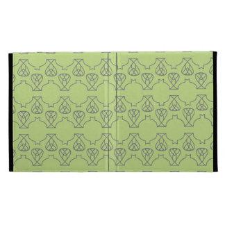 Avante Garde deep purple blue mint iPad Folio Cover