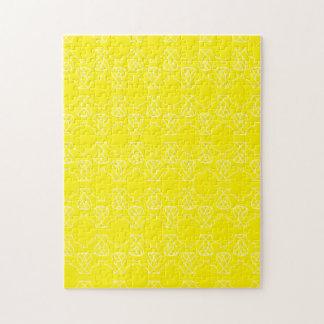 Avante Garde yellow Puzzles