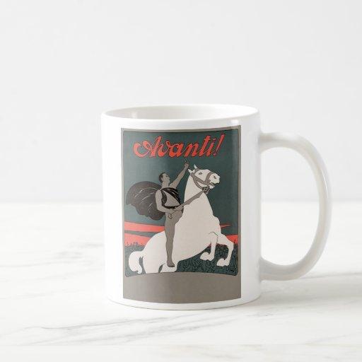 Avanti Classic White Coffee Mug