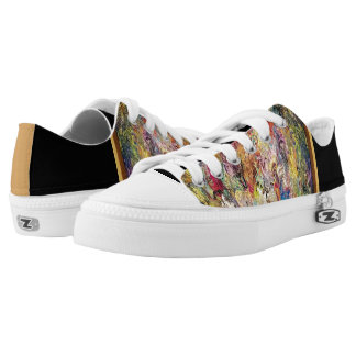 """Avanti"" Lowtops Printed Shoes"