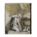 Avarice in the Kitchen, from a series of prints de iPad Folio Cases