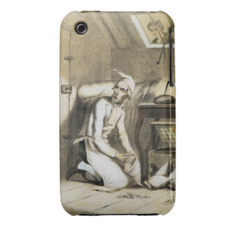 Avarice in the Kitchen, from a series of prints de iPhone 3 Covers