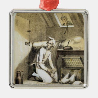 Avarice in the Kitchen, from a series of prints de Metal Ornament