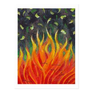 Avaricia - pintura original del arte del hundimien postales