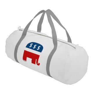 Avaricia republicana bolsa de deporte