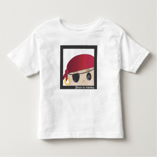 Avast! A Pirate in Training Junior Scallywag Toddler T-shirt