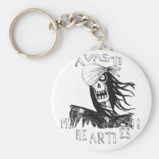 AVAST me hearties keychain