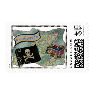 Avast! Pirate Stamps