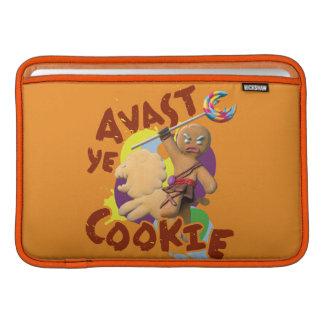 Avast Ye Cookie MacBook Air Sleeve