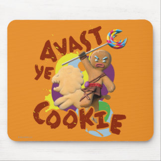 Avast Ye Cookie Mouse Pad