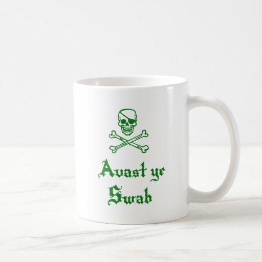 Avast YE limpia Tazas De Café