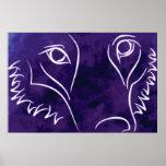 Avatar del lobo impresiones