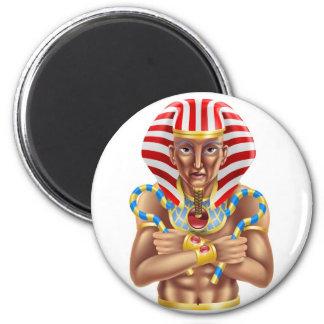 Avatar egipcio imán redondo 5 cm
