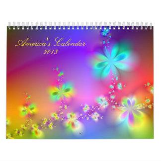 Avatar Garden  2013 Two Page Calendar