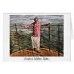 Avatar Meher Baba Stationery Note Card