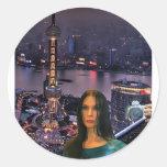 AvatarCity Round Sticker