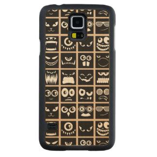 Avatares de Halloween - negro Funda De Galaxy S5 Slim Arce
