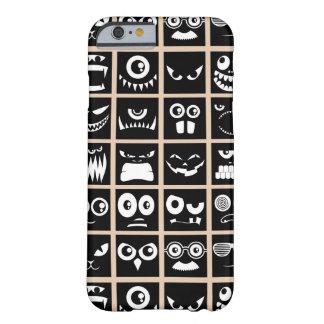 Avatares de Halloween - negro Funda Para iPhone 6 Barely There