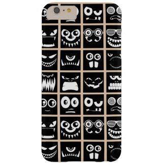 Avatares de Halloween - negro Funda Para iPhone 6 Plus Barely There