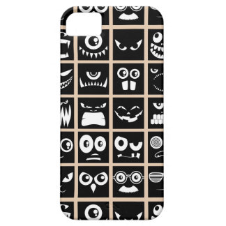 Avatares de Halloween - negro iPhone 5 Carcasas
