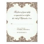 Ave del paraíso de las magnolias n - tarjeta de la comunicado personalizado