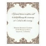 Ave del paraíso de las magnolias n - tarjeta de la invitaciones personales