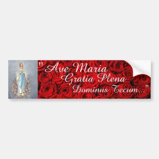 Ave Maria Bumper Sticker