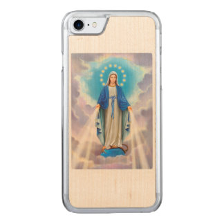 Ave Maria Carved iPhone 8/7 Case