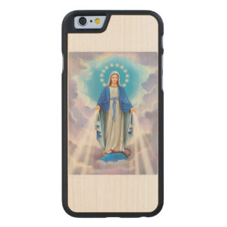 Ave Maria Carved Maple iPhone 6 Case