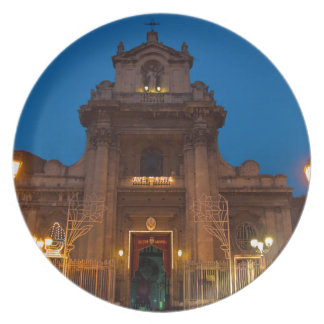 Ave Maria Church in Catania Dinner Plate