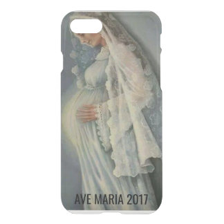 *Ave Maria* Custom iPhone 8/7 Clearly™ Deflector C iPhone 8/7 Case