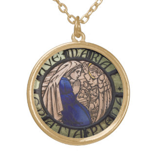 AVE MARIA GOLD PLATED NECKLACE