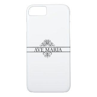 Ave Maria iPhone 7 Case