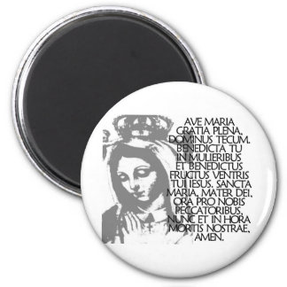 Ave Maria Magnet
