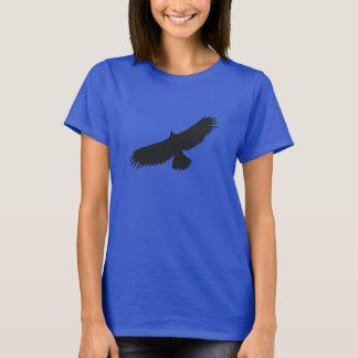 Ave rapaz 03 - camiseta de Hanes de las mujeres