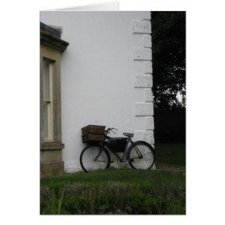 Avebury bicycle - notecard