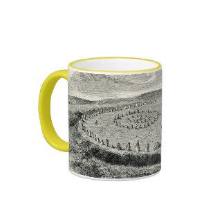 Avebury - henge neolítico tazas