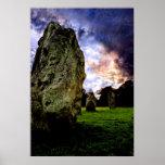 Avebury Magic Poster