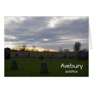 Avebury Solstice Greeting Cards