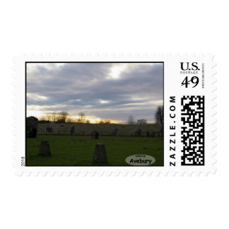 Avebury Solstice Postage Stamps