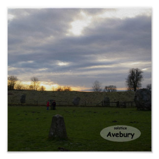 Avebury Solstice Poster