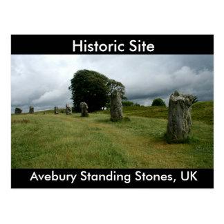 Avebury Standing Stones, UK Postcard
