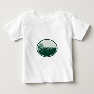 Avebury Stone Henge Circle Retro Tee Shirt