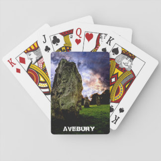 Avebury Stones UK Playing Cards