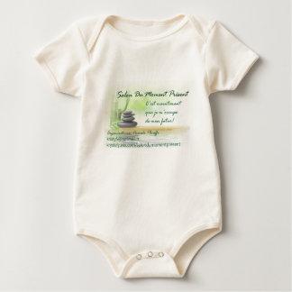 Avec/with logo Salon Du Moment Présent Baby Bodysuit