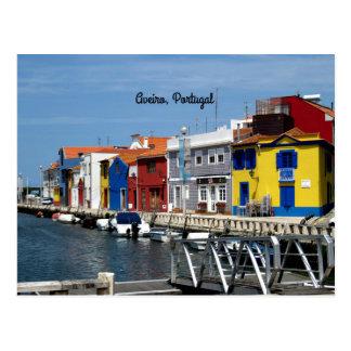 Aveiro, Portugal Postcard
